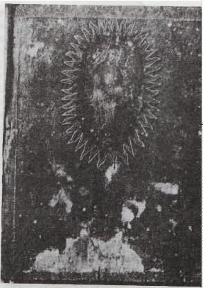 Икона Елецкой Божией Матери 17в.(без ризы) в Успенском Соборе. Д.И.Багалей.