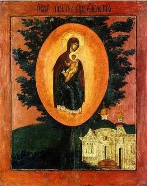 Елецко-Черниговская икона Божией Матери
